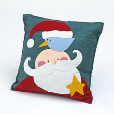 Jolly Applique Pillow