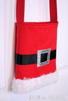 Santa Tote Bag pattern