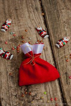 Santa Sack Party Favor Bags