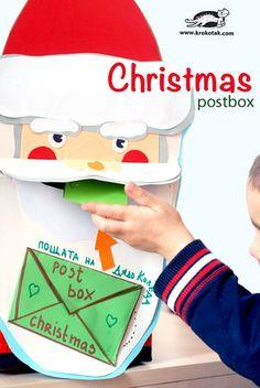 DIY Christmas Postbox ? Santa
