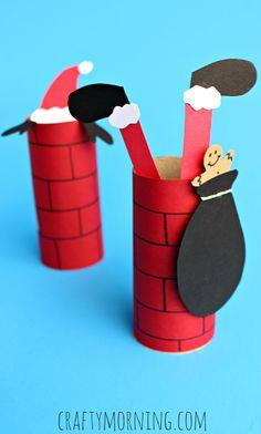Toilet Paper Roll Chimney