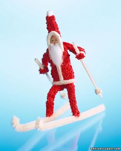 Pipe Cleaner Santa Claus