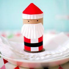 Mini Santa Favor Boxes