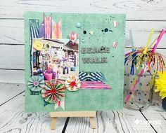 Scrapbook with Smaller Paper Layouts