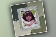 Portrait Scrapbook Layout