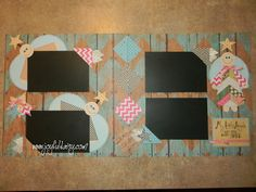 Angel Scrapbook Layouts