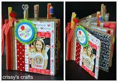 DIY Mini Scrapbook