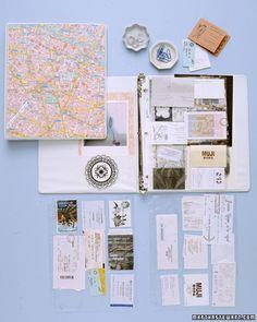 No-Glue Scrapbook | Martha Stewart