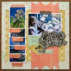 Scrapbooking with the Tab Punch