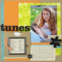 Scrapbook Pages with Hidden Journaling