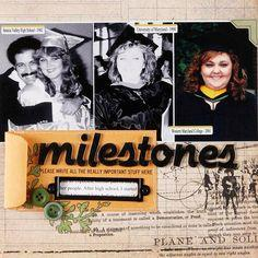 Graduation Scrapbook Layout Ideas
