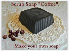 Scrub Soap Coffee