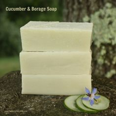 Cucumber & Borage Homemade Soap