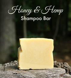 Honey & Hemp Shampoo Bar Recipe