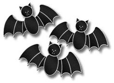 Halloween Holiday Bats Free Pattern
