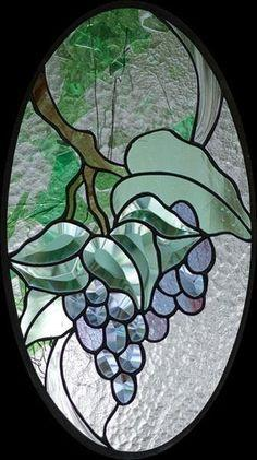 Free Grapes Bevel Panel Pattern
