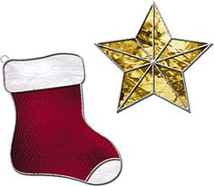 Christmas Stocking and Star