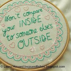 Don't Compare Your Inside