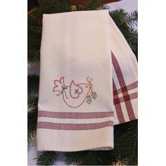 Holiday Dove Tea Towel