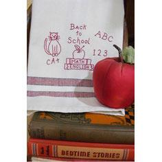 Back To School Tea Towel