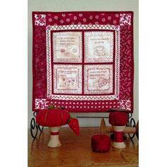 Picture of Robin Stitch Sampler