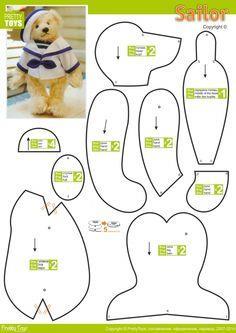 100 Stuffed Animal Patterns Craftfreebies Com