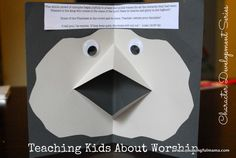 Teaching Kids About Worship