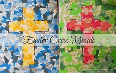 Mosaic Cross Craft