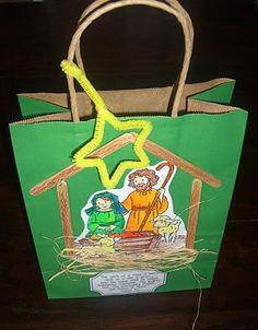 Manger Scene Goodie Bag
