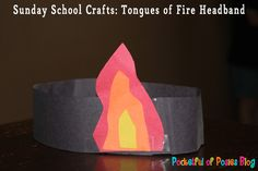 Tongues of Fire Headband