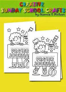Prayer Journal Booklet Cover