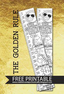 Golden Rule - Free Printable