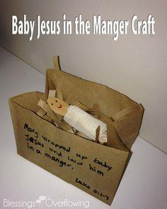 Baby Jesus in the Manger