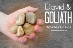 David & Goliath preschool activities