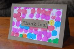 Polka Dot Thank You Cards