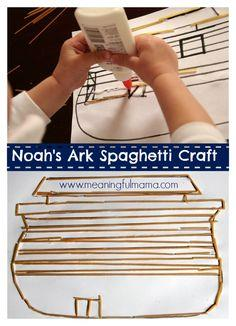 Noah?s Ark Spaghetti Craft