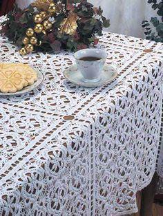 Crochet Tablecloth Patterns Craftfreebies Com