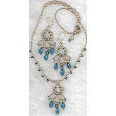 'Dream' necklace and earring set