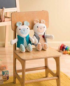 Tagalong Teddy Free Pattern