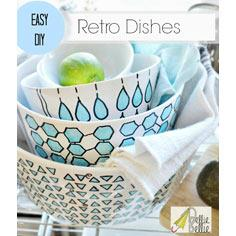 Retro dishes