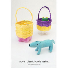 Woven Spring Baskets Craft