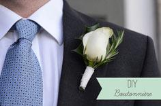 Buttonhole for the Groom