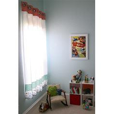Striped Grommet Curtains