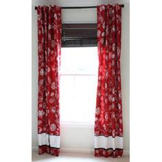 Fully Lined Tab-Top Drapes