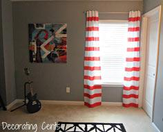 Tutorial: Striped Curtains