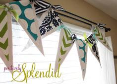 Pennant Valance and Drape