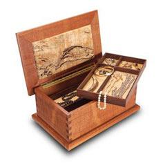 Treasured Wood Jewelry Box