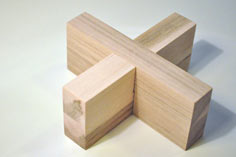 Make a Wooden Cross Puzzle