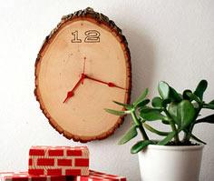 Wooden clock decor tutorial