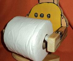 Robot Toilet Paper Holder